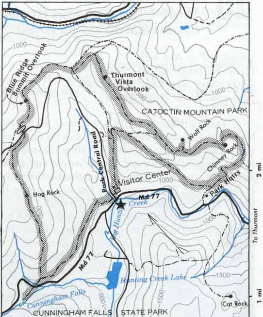 High Adventure Club - Catoctin Mountain Hike 2/17/2001 on