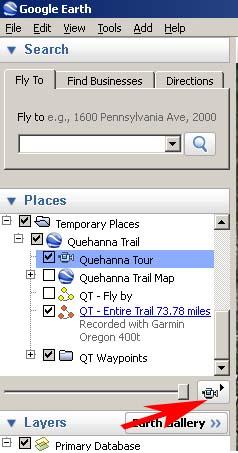 Quehanna Trail GPS/GPX files